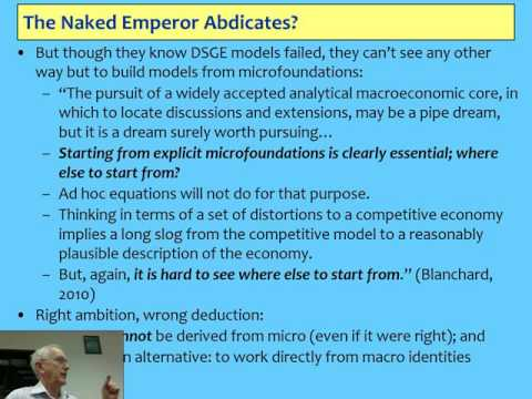 Steve Keen -Alternative economics 1  Credit, Islamic Finance