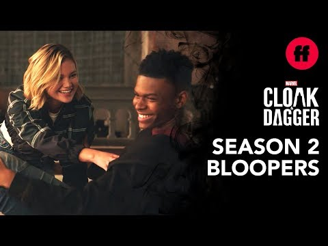 Official Season 2 Blooper Reel | Marvel's Cloak & Dagger | Freeform