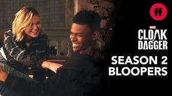 Official Season 2 Blooper Reel | Marvel's Cloak & Dagger | Freeform