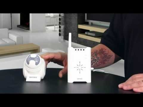 Optex Wireless Door Entry Announcer Optex Wireless 2000 Review Demo