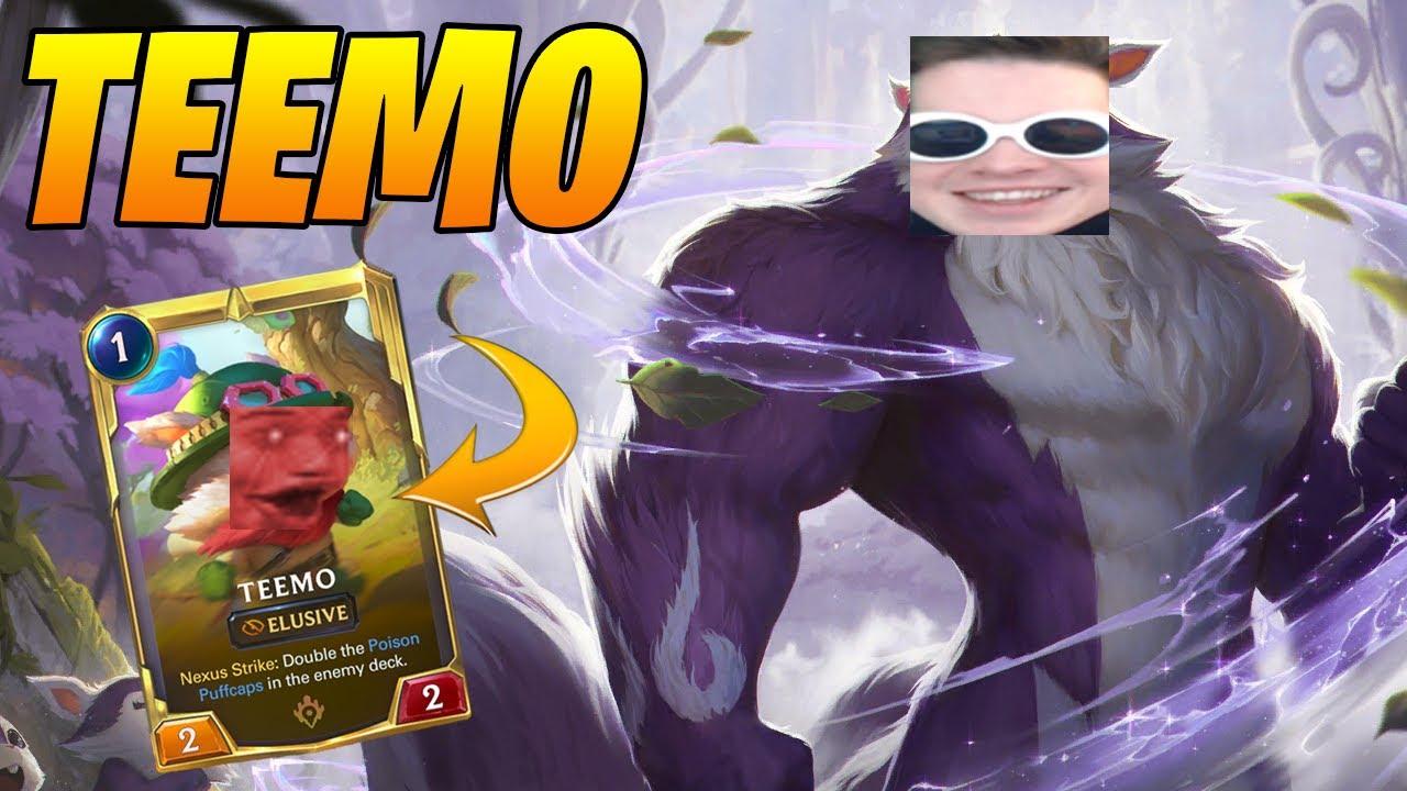 NA's Best TEEMO Returns... | Legends of Runeterra | Controltheboard