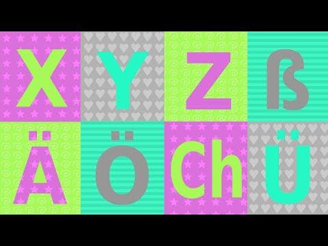 XYZ Das deutsche Alphabet:  Teil 3 - Umlaute, Doppellaute, scharfes S - German pronunciation