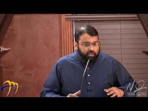 Giving Thanks and Being Grateful to Allah - Sh. Dr. Yasir Qadhi