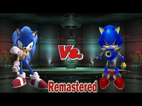 Metal sonic vs tails vs shadow hacked super smash bros brawl