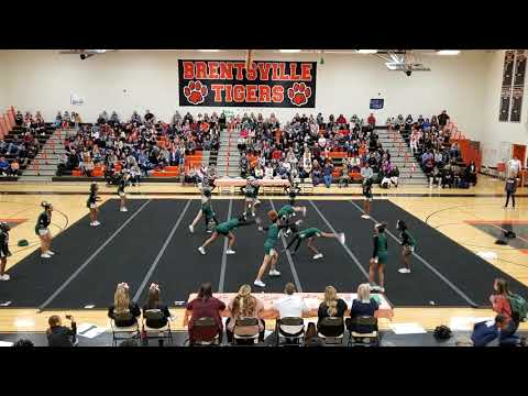 Rippon Middle School at Spirit Spectacular Cheer Competition 2020