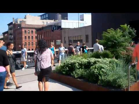 The Highline, Meatpacking District, NYC