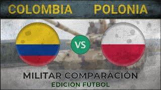 COLOMBIA vs POLONIA - Militar Comparación - 2018 [EDICIÓN FÚTBOL]