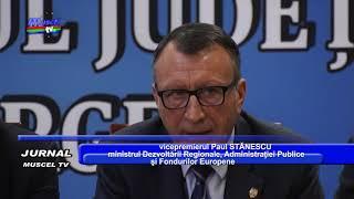 jurnal musceltv 10 10 2018 vizita ministri in ag   paul stanescu, marius nica   ela ioanscu