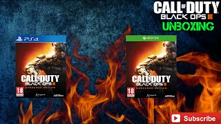 Call Of Duty Black Ops 3 | Hardened Edition  unboxing video