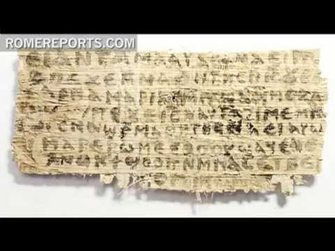 Harvard Professor: Coptic Papyrus does not prove that Jesus was married