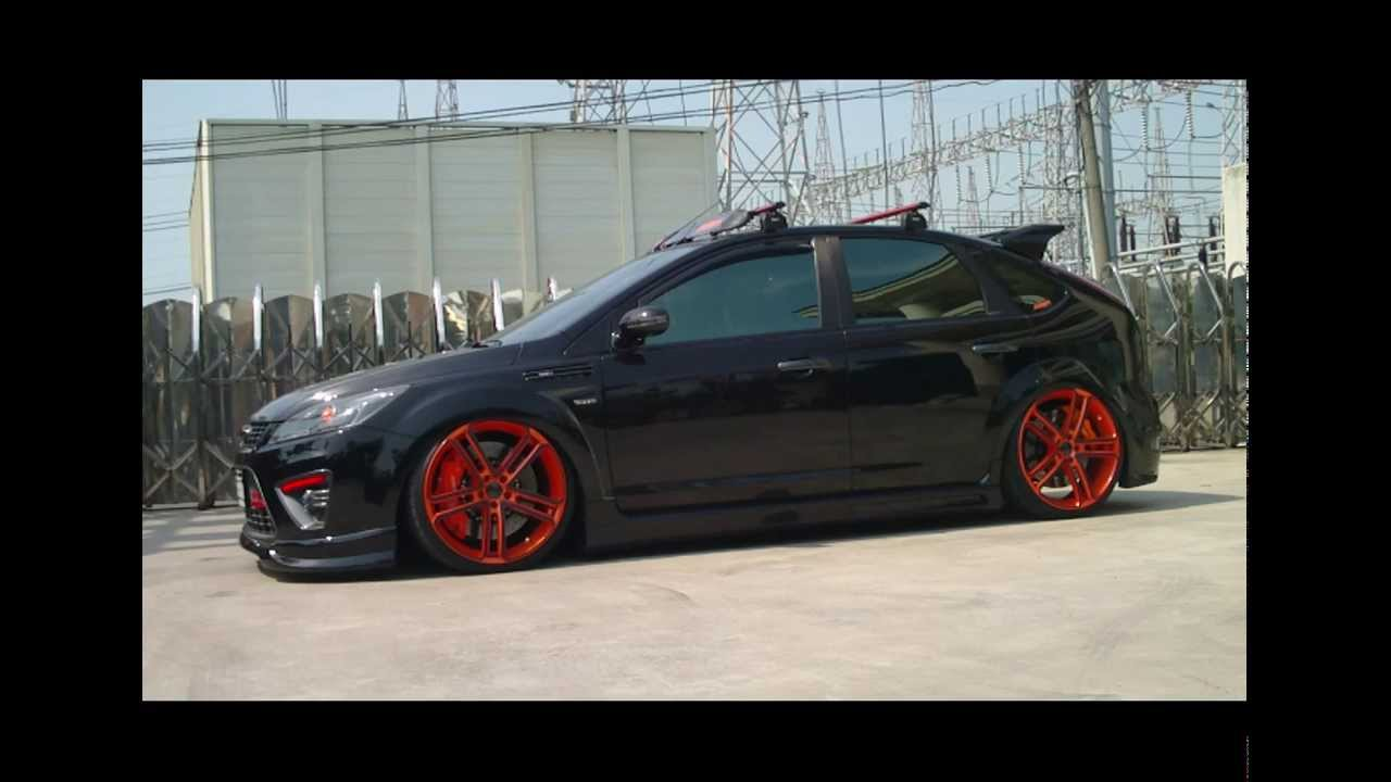 Ford Focus Ii Airrex Digital Air Suspension System Youtube