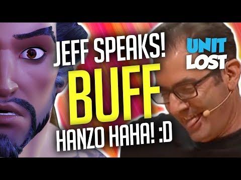Overwatch News - Jeff wants a Hanzo BUFF!? Mercy Design Goal, Moira Impact and Blizzard World Map!