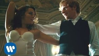 The official video for 'Thinking Out Loud', Ed learnt to dance! 'x'...
