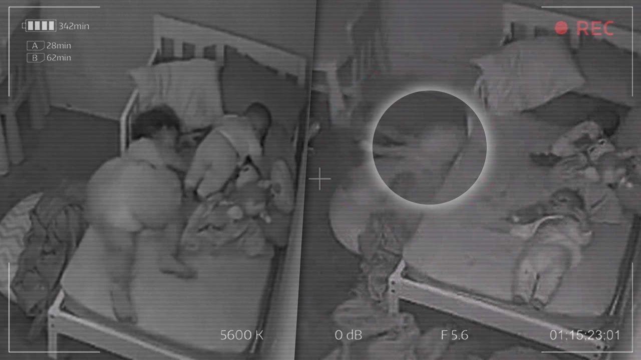 Download Cámara en el cuarto de un bebé capta algo aterrador