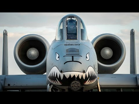 A-10 WARTHOG Awesome Flying at Davis-Monthan AFB