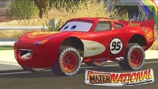Şimşek Mcqueen ile Radyatör Kasabası Oyunu (Cars Mater-National Championship)