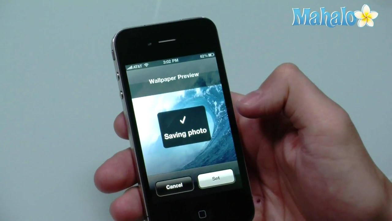 605c9805640 How to change wallpaper on iPhone 4 - YouTube