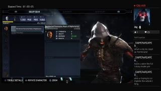 Injustice 2 campain part 2 bunch of bozos to fight