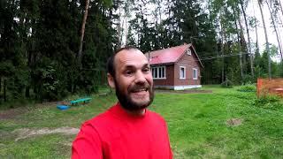Баня, отмостка, разборка домиков и другие лесные дела)