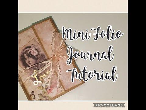Easy Mini Folio/Journal Tutorial