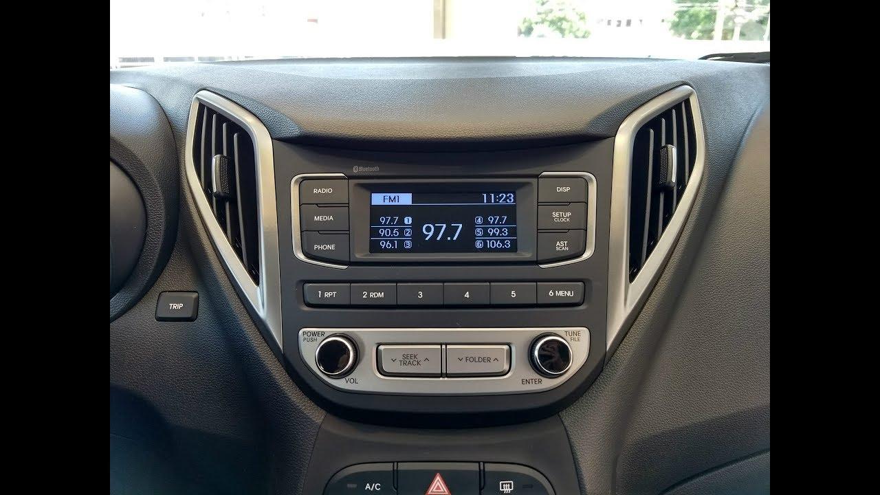 Rádio blueAudio® do HB20 - Explicação Técnica - YouTube