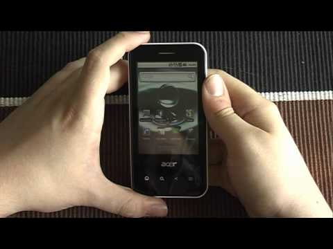 Acer beTouch E400 - Unboxing