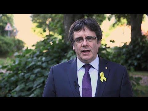 """Puigdemont fala numa """"vitória"""" da causa independentista"""