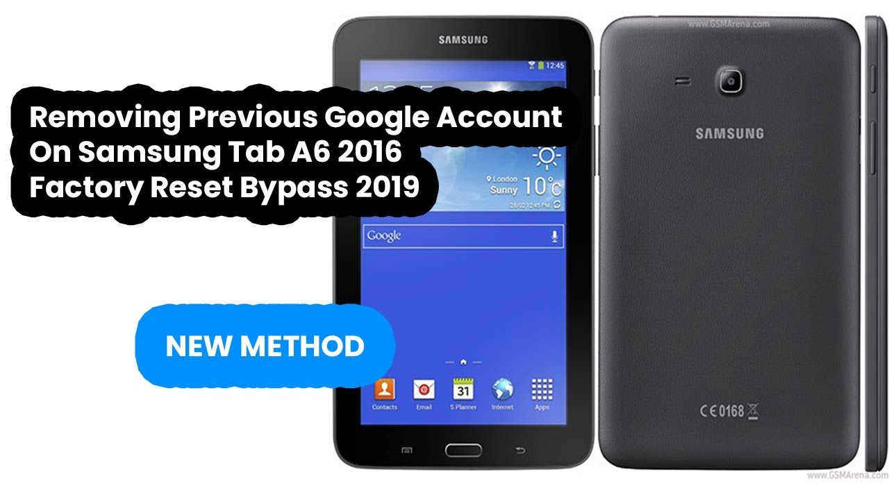 Removing Samung A6 Tab Previous Google Account | FRP Bypass 2019 New Method