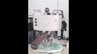 ECOV11 드롱기 아이코나 빈티지 커피머신 추출