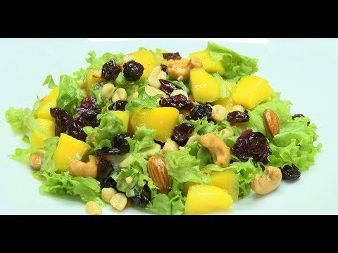 How to Prepare Mixed Salad with Dried Fruits- HogarTv por Juan Gonzalo Angel