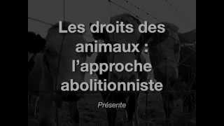 Les animaux comme propriétés (FR)