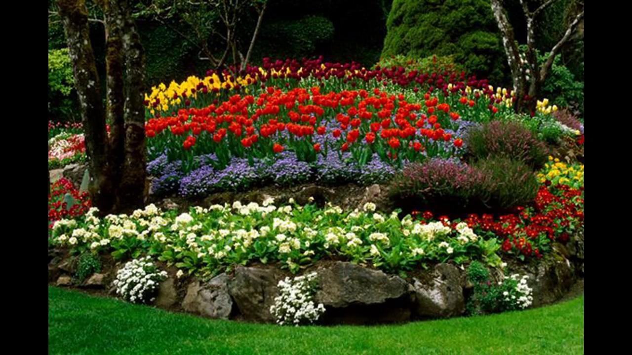 40 id es d coration jardin fleuri youtube On idee jardin fleuri
