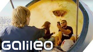 Die Urban Campsite in den Niederlanden - ungewöhnliches Campen | Galileo | ProSieben