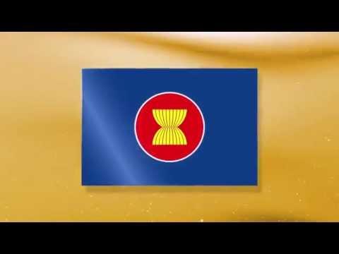 ตอนที่ 1 ธงประเทศสมาชิก 10 ประเทศ และ ธงชาติอาเซียน
