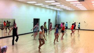 VT Bhangra Teaches VT Contemporary Dance Ensemble Group 2