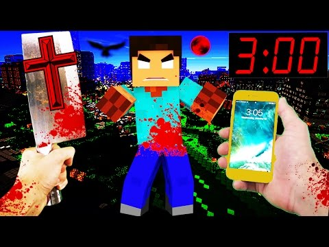 Realistic Minecraft - DO NOT PLAY at 3:00 AM in REAL LIFE!