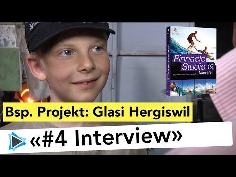 Videoprojekt Glasi Hergiswil #4 Interview, Videoprojekt von A bis Z