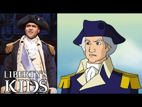 🇺🇸 Liberty's Kids | Hamilton Character Special | George Washington | Full Episode Compilation 🇺🇸