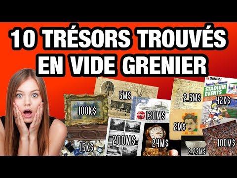 10 TRÉSORS TROUVÉS EN VIDE GRENIERS