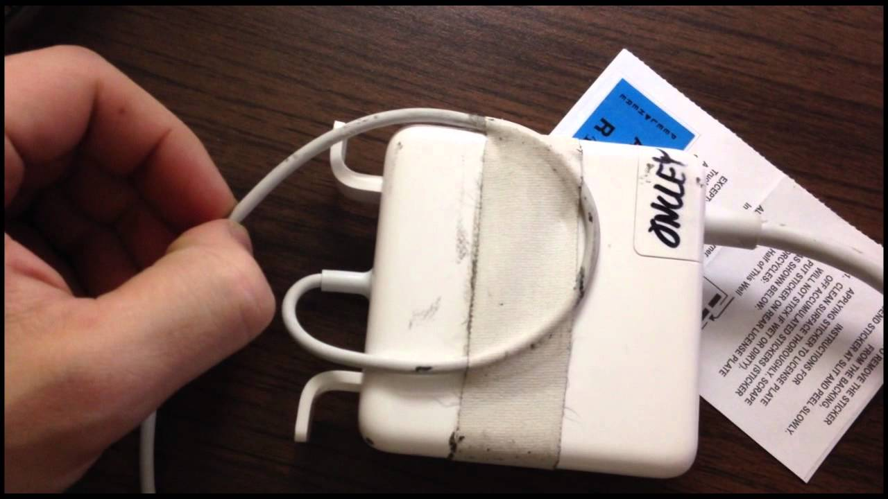 How To Wrap Your Macbook Charger So It Wont Break YouTube