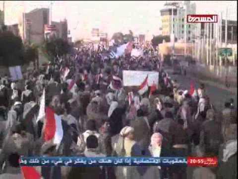 مسيرات الذكرى الرابعة لثورة فبراير-ميدان السبعين 11/2/2015