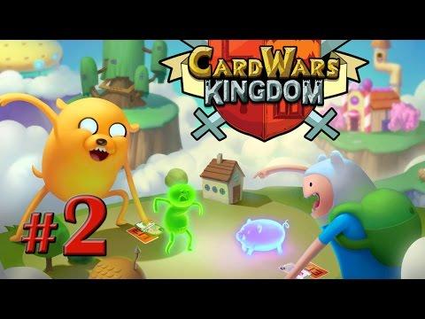 Играем в Adventure Time Card Wars [первая часть игры]
