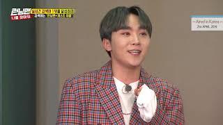 [HOT CLIPS] [RUNNINGMAN] [EP 448]   SEVENTEEN Seungkwan is so talented! (ENG SUB)