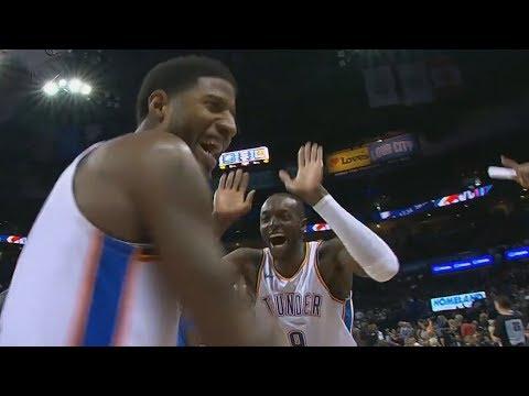 Paul George Lob Off Glass to Grant! Westbrook's Birthday! 2018-19 NBA Season