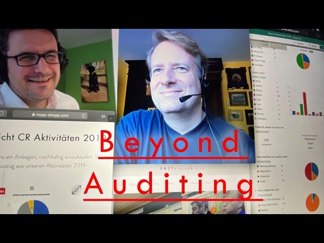 Beyond Auditing: Wir brauchen neue Ansätze
