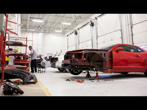 Кузовные работы в США. Auto Body Shop изнутри