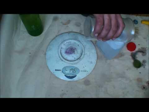 Как определить концентрацию соляной кислоты