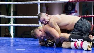 Maciej Grzyb (Papaj Boxing Team) - Piotr Golon (Fight Academy Ostrołęka)