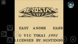 Aerostar Gameboy game