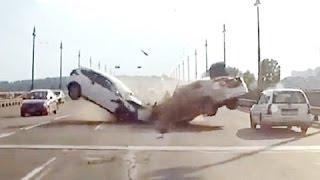 # 2 18+ Жестокие аварии ушедшего Лета 2016 ! Car Crashes and accidents Compilation